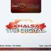 Logo : Khalsa-The Digital