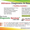 Banners: Advance Diagnostic & Research Centre