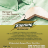 Advertisement: Suprimo Dry Cleaners