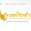 Logo Design for Pavitra's Salon & Spa