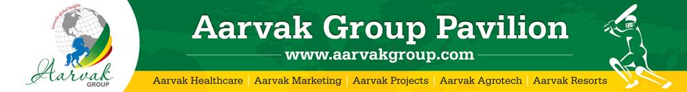 Aarvak Group Cricket Pavillion Hoarding