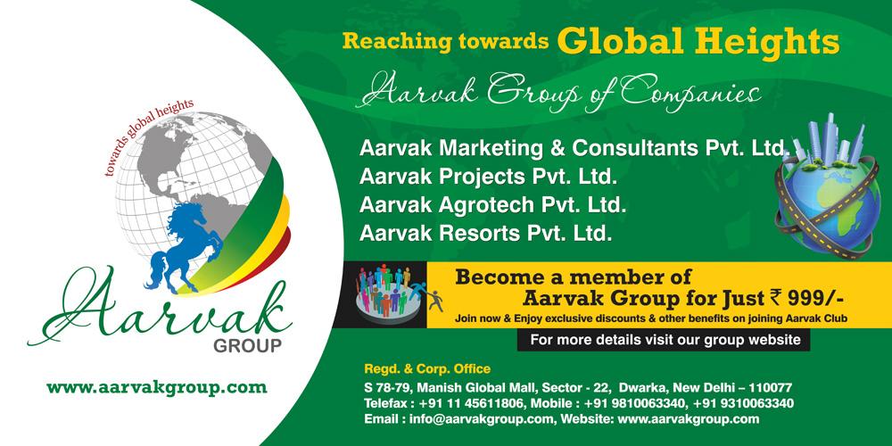 Aarvak Group Hoarding