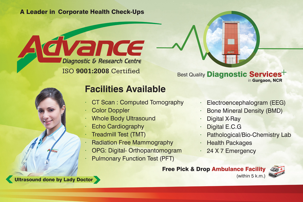 Advance Diagnostic Banner Design
