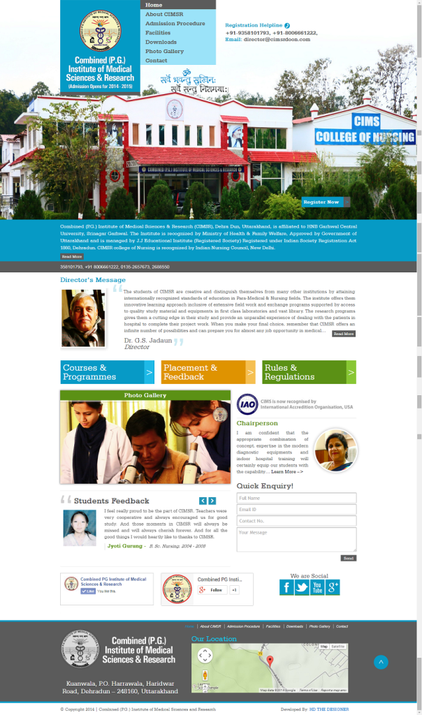 Website CIMSR