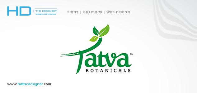 Tatva Botanical Logo