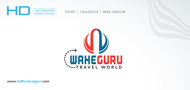 Logo Waheguru Travel World